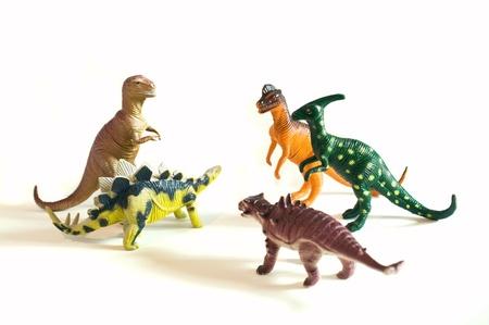 Jouets de dinosaures Banque d'images - 9179273