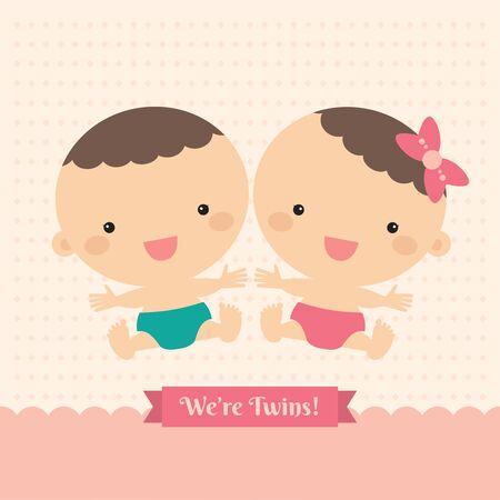 twin: twin babies