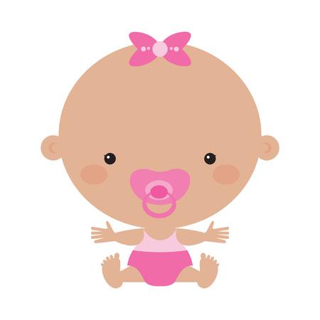 baby girl: cute baby girl