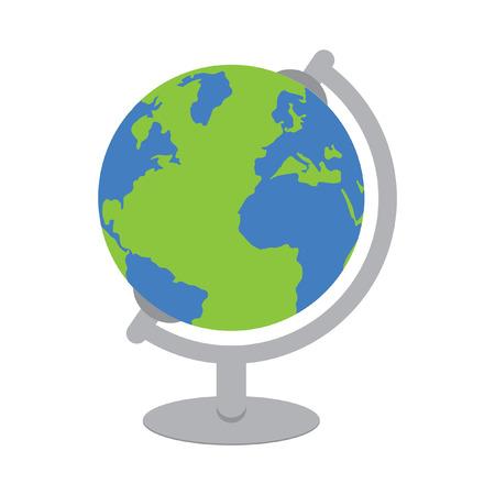 wereldbol: Wereldbol Stock Illustratie