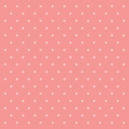 ピンクの水玉の壁紙