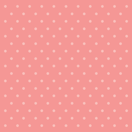 pink polka dot wallpaper Stock fotó - 44548904