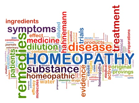 alternative medicine: Illustration of diabetes word tags homeopathy