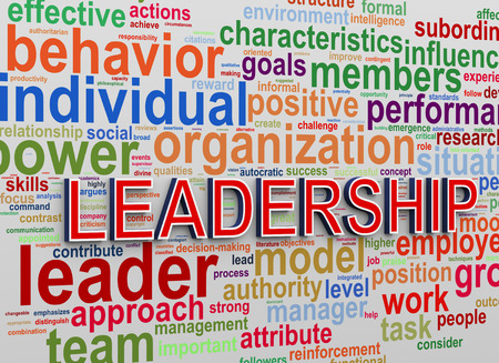 commander: 3d Illustration of Worldcloud word tags of concept of leadership and success