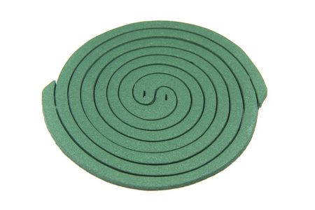 mozzie: Two spiral (mosquito coil)  Stock Photo