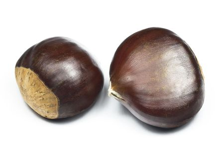 Chestnuts (castanea sativa) Stock Photo - 6690355