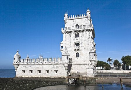 belem: Belem Tower (Torre de Belem), UNESCO World Heritage Site Editorial