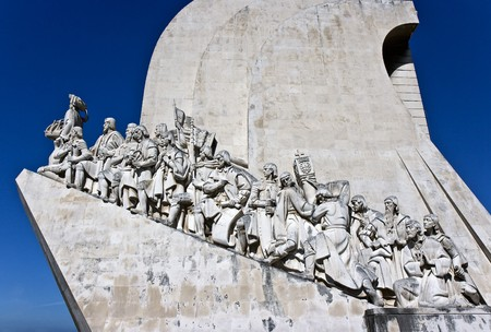 discoverer: Monument to the Discoveries which celebrates the Portuguese who took part in the Age of Discovery.