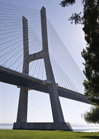 Vasco da Gama Bridge Stock Photo - 7841498