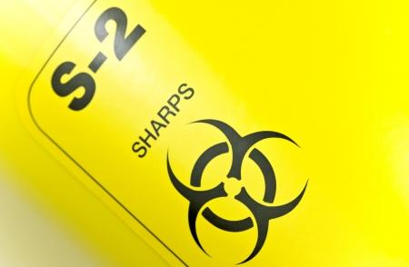 hazardous waste: Sharps