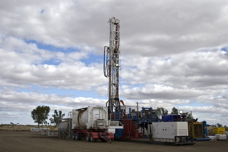 Drilling rig  Stock Photo - 10008351