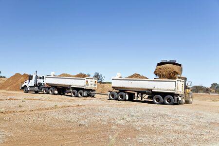 semitrailer: Trucks Stock Photo