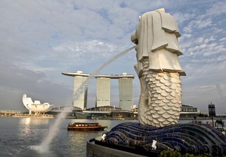 marina bay: Singapore new cityscape