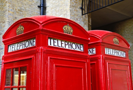 London Red Telephone Box photo