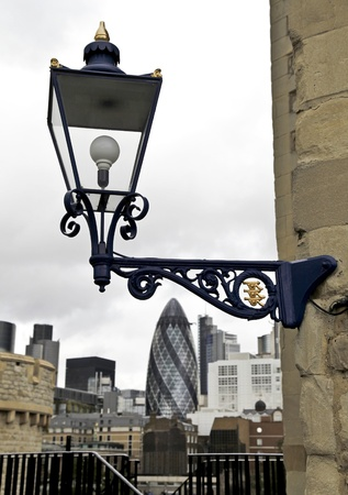 Tower of London � Lamppost photo