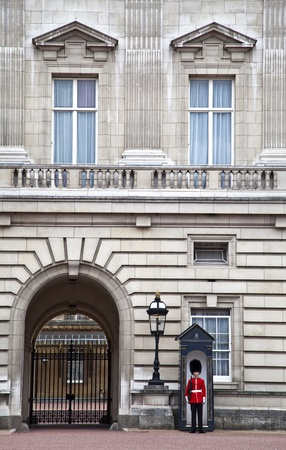 The Queen�s Guard and the Balcony Stock Photo - 11552160