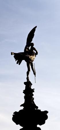 eros: Eros at Piccadilly Circus Stock Photo
