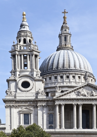 church dome: St Paul's Cathedral Stock Photo