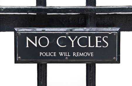 cycles: Pas de cycles