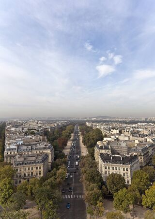 Avenue Foch in Paris, France photo