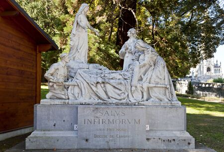 Sanctuary of Lourdes Stock Photo - 13047117
