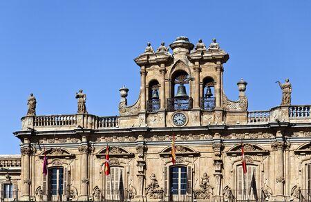 belfry: Salamanca Plaza Mayor - Belfry