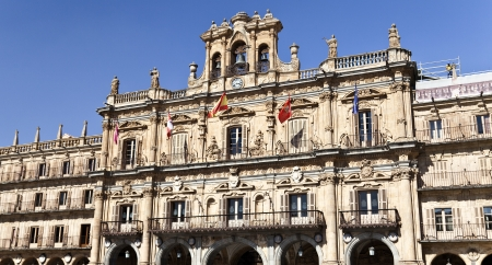 Salamanca Plaza Mayor - City hall