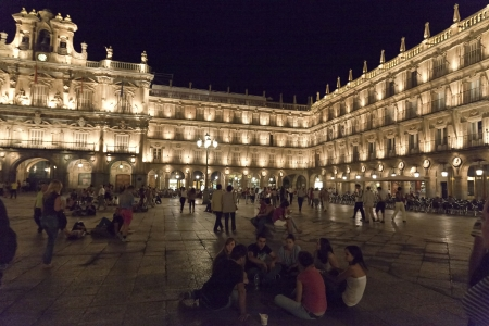 Salamanca Plaza Mayor Stock Photo - 13877404