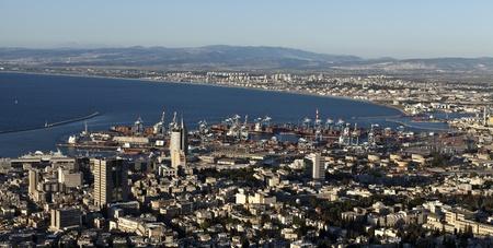 haifa: View of Haifa, Israel Editorial