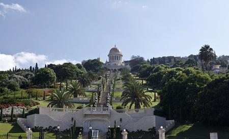 bahai: Bahai Gardens and Shrine Editorial