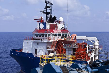 Offshore supply boat  photo