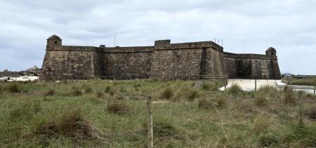 conde: Fortress in Vila do Conde, Portugal Editorial