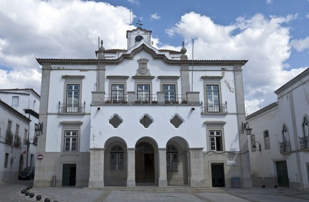 assembly hall: City Hall in Serpa, Portugal