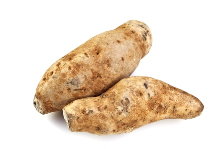 starchy food: Purple Fleshed Sweet Potato