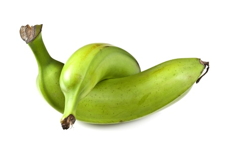 starchy food: Plantain, a starchy and low in sugar cooking banana