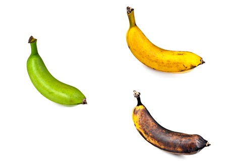 ripeness: Plantain  Three Stages of Ripeness