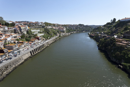 downstream: Douro River Upstream