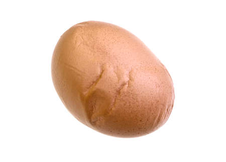 deformity: Poultry egg showing a severe shell deformity