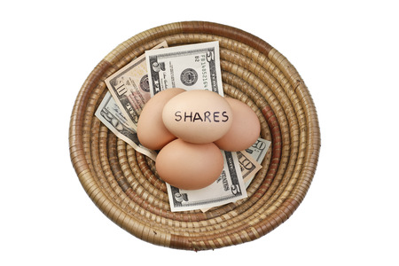 Basket Egg Investing in Shares and Money photo