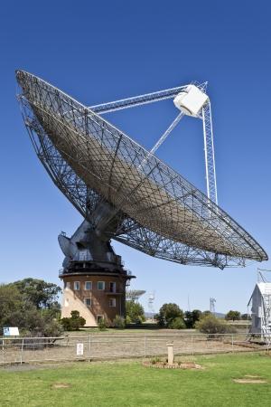 Radio Telescope Dish in Parkes, Australia