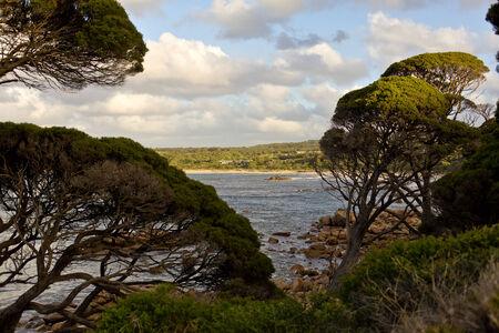 headland: Cape Naturaliste Banker Bay Stock Photo