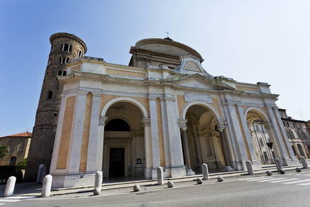 ravenna: The Duomo is the new Cathedral built in the 18th century in Ravenna, Italy