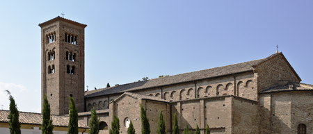 ravenna: The Basilica of Saint Francis (San Francesco) in Ravenna, Italy, was dedicated to St Francis of Assisi in 1321.
