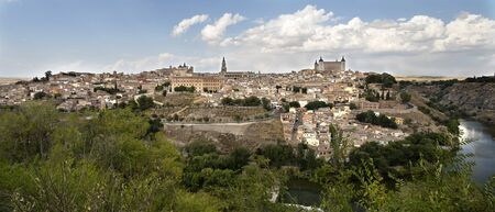 jews: View of the City of the Three Cultures Christians, Muslims and Jews as it is known the old city of Toledo in Spain.