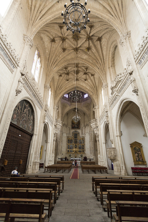 View of the church of the Monasterio de San Juan de los Reys in Toledo, Spain. Editorial