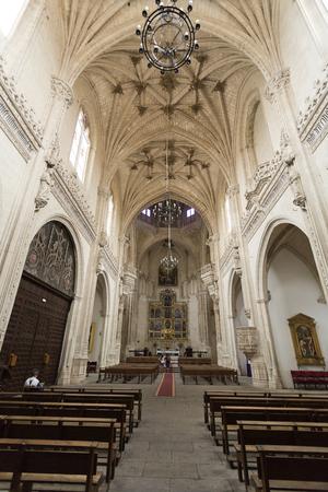 nave: View of the church of the Monasterio de San Juan de los Reys in Toledo, Spain. Editorial