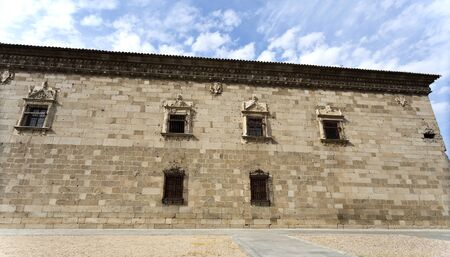 toledo town: The Museum of Santa Cruz was built as an hospital in the 16th century in a combination of Gothic and Spanish renaissance. Toledo, Spain