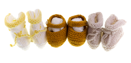 lull: Handmade variety of knitted shoes and booties