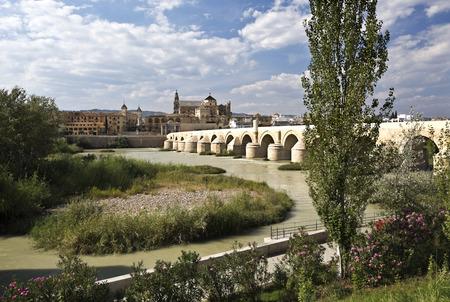 1st century: Roman Bridge built in the early 1st century BC across the Guadalquivir river in Cordoba, Spain
