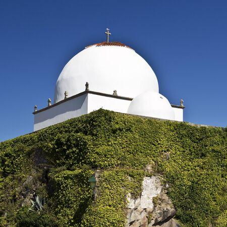 conde: Chapel of Good Help (Capela do Socorro) built in 1552 in Vila do Conde, Portugal